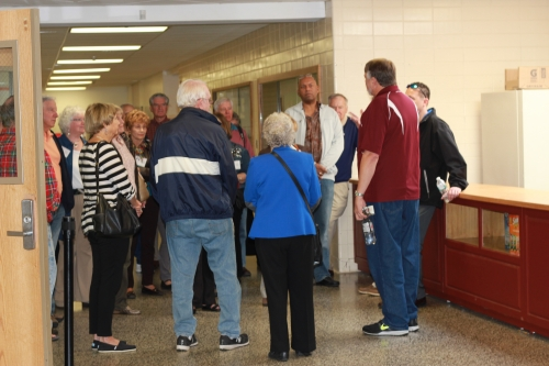 High School Tour led by Principal Paul Sears